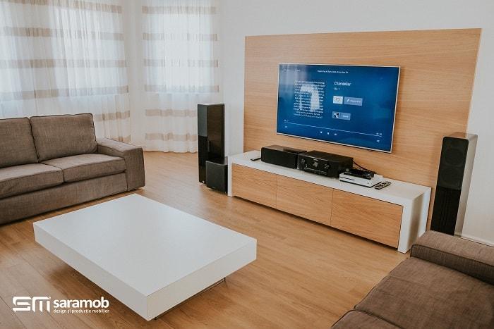 saramob design mobila productie mobila comanda oradea living-mdf-vopsit-alb-si-mdf-natur