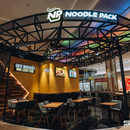 Commercial furniture Noodle Pack Vivo Cluj Napoca saramob